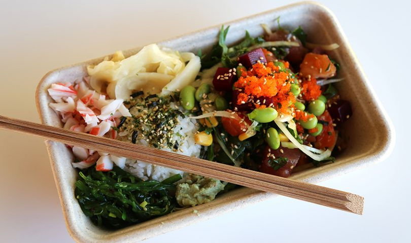 An authentic Californian poké bar brings its delicious offering to Ponsonby