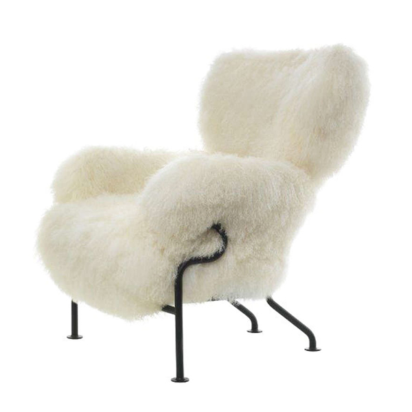 836 Tre Pezzi wool armchair