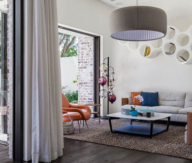 This bold, contemporary home offers space and style for the whole family