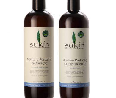 Sukin Moisture Restoring Shampoo and Conditioner