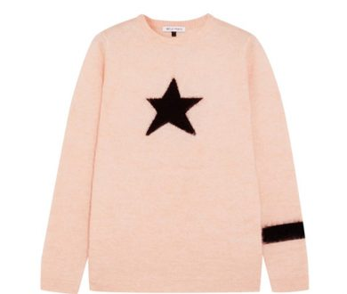 Bella Freud mohair star jumper