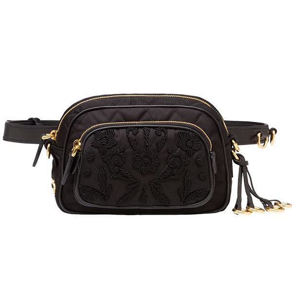 Prada Nylon tassel waist bag