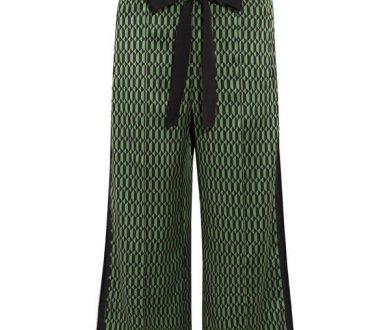 Fendi silk-satin wide-leg pants