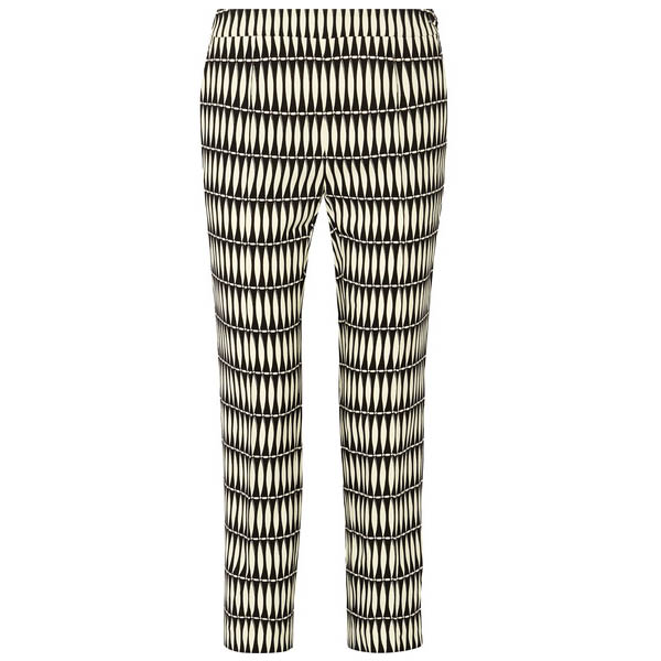 Lanvin printed crepe pants