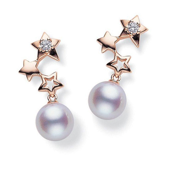 Mikimoto Starry Night earrings