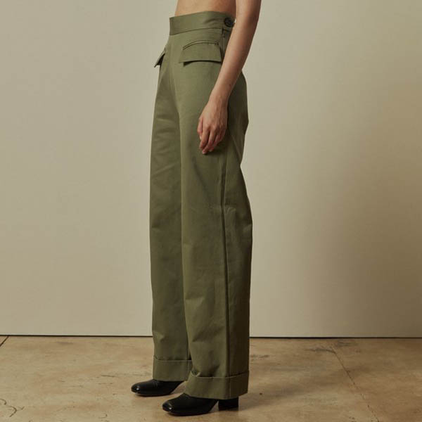 Paris Georgia Thistle trousers