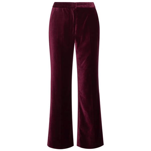 Stella McCartney velvet flared pants