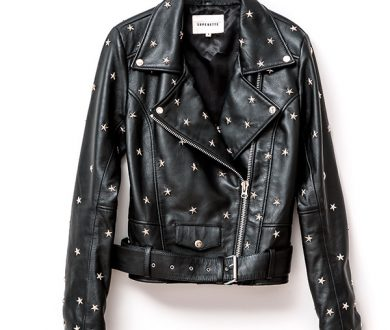 Star Stud Biker jacket
