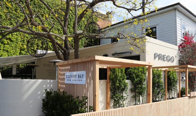 Bask in the sunshine at this Ponsonby stalwart's enticing new garden pop-up
