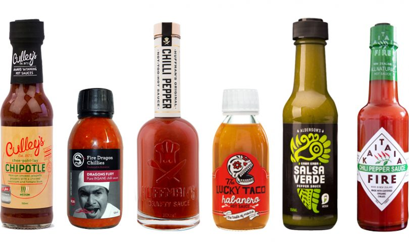 It's getting hot in here — we round up our favourite chilli sauces