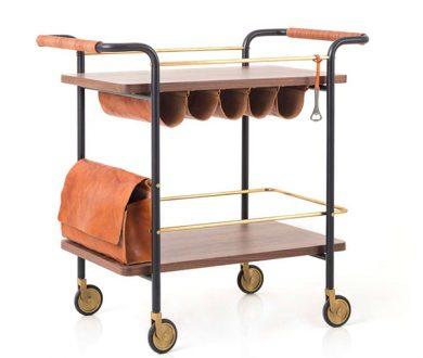 Stellar Works bar cart