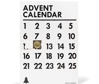 Made of Tomorrow advent calendar