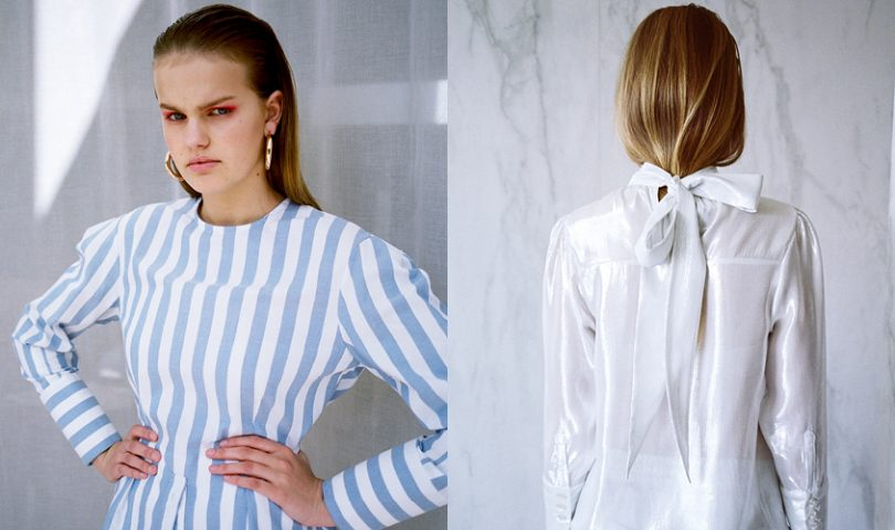 Harris Tapper is the new label dedicated to creating shirts for the modern woman