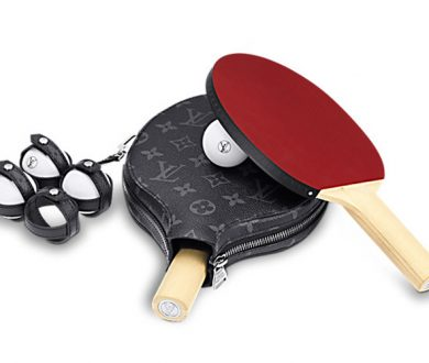 Louis Vuitton ping pong set