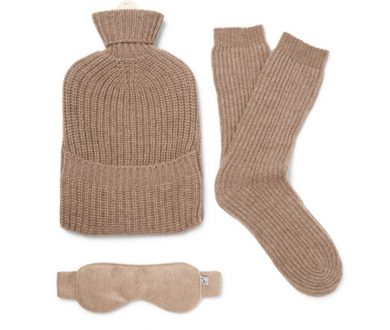 Ribbed Cashmere lounge set