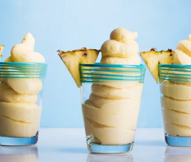 This healthy, 3 ingredient ice cream alternative is a cinch to make