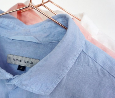 New brand Samuel Joseph is touting one thing only: the perfect linen shirt