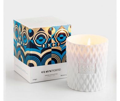 Claus Porto Ceramic Candle