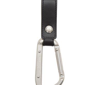 Saint Laurent Silver Clip Keychain