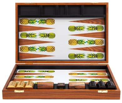 Pineapple Backgammon set
