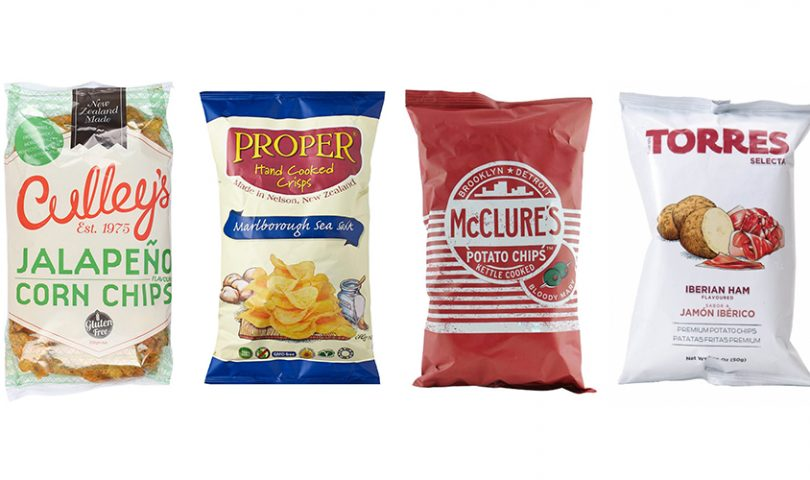 Top chippies: we round up the 4 fanciest (and most delicious) crisps on the market