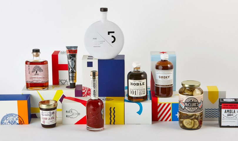Cook & Nelson is shaking up the traditional hamper just in time for Christmas