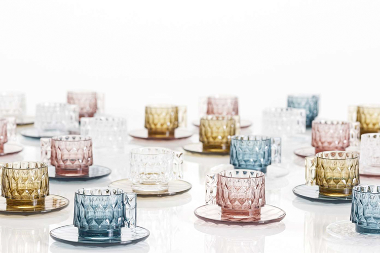 Kartell Jellies Family cup & saucer set