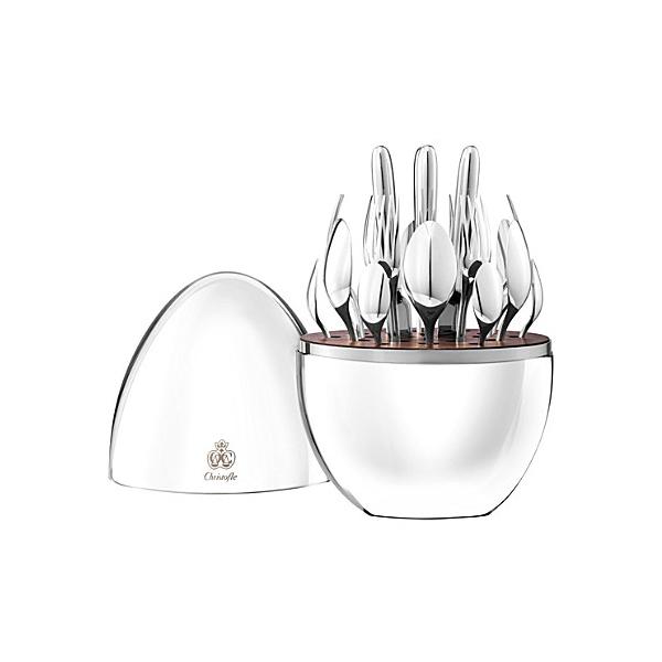 Christofle 24pc Mood cutlery set