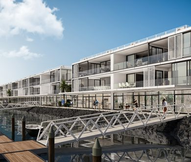 A new development is set to bring luxury,  marina-front living to Auckland