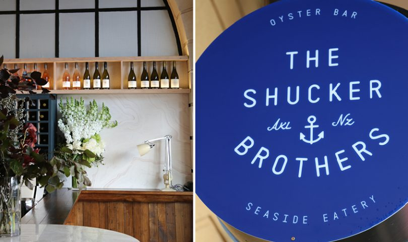 A suave new oyster bar gets set to open on the waterfront