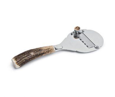 Stag antler truffle slicer
