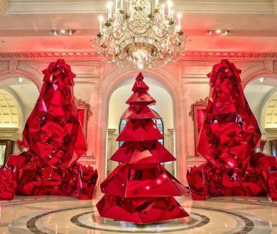 Sculptural Christmas tree