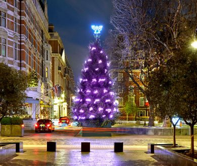 Neon poetry Christmas tree