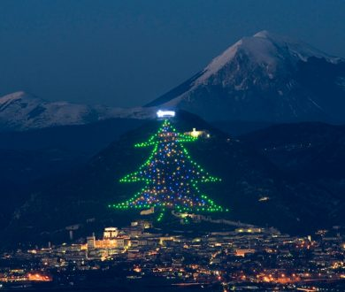 The largest Christmas 'tree' in the world