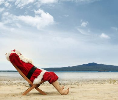 Round up the kids, Santa is hitting the beach at Mission Bay Pavilion this weekend