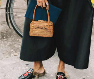 Raffia mafia: The textural bags of the season