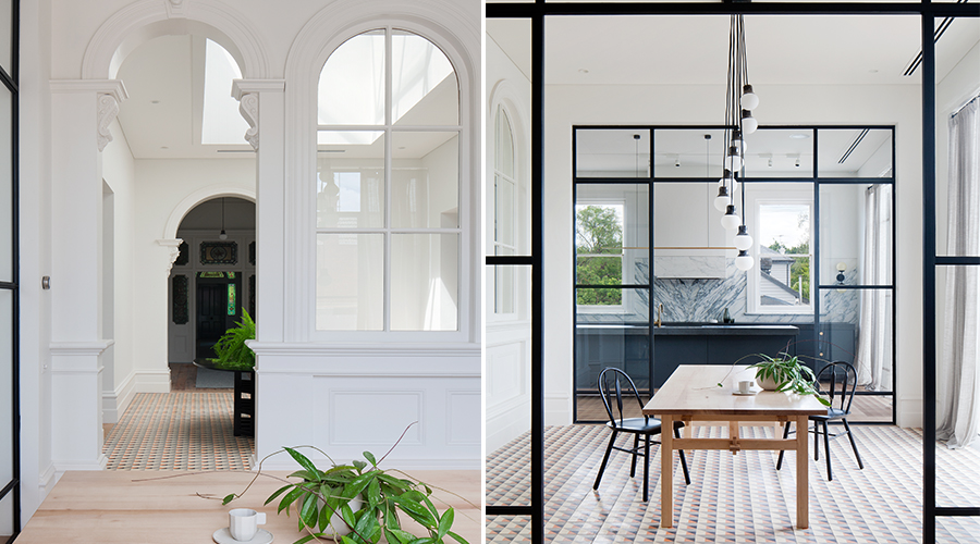 Old world beauty meets elegant modern design in this Melbourne home ...