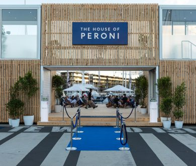 Video: the House of Peroni has officially landed in Auckland's Viaduct Harbour