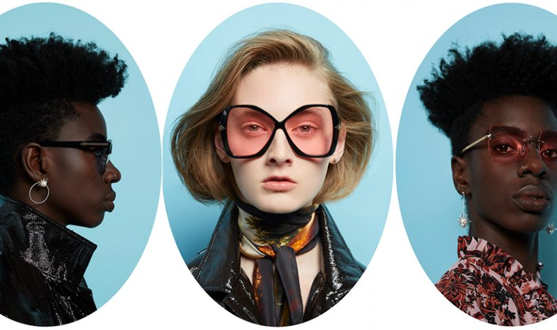 Karen Walker escapes reality for her latest collection of sleek shades
