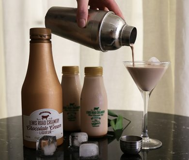 Lewis Road Creamery's new mint chocolate milk makes the perfect after dinner cocktail