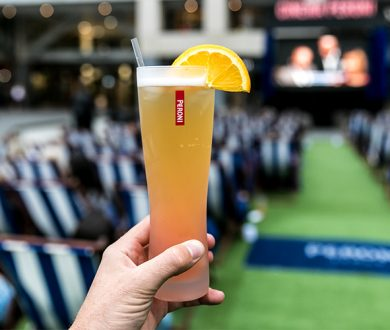 The House of Peroni kicks off with an outdoor cinema session