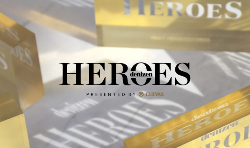 Know a hero? Make sure they're recognised by nominating them for a 2018 Denizen Heroes Award