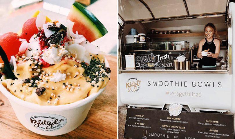 Blitzd food truck serving up sensational smoothie bowls