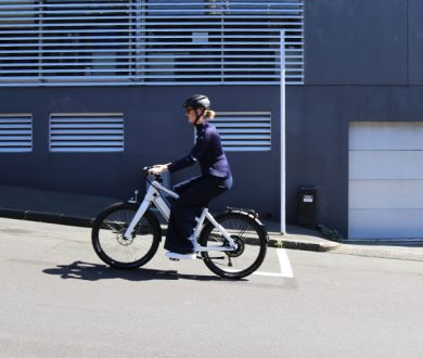 Sweet wheels; a Denizen staffer takes the Stromer ST1X e-bike for a spin
