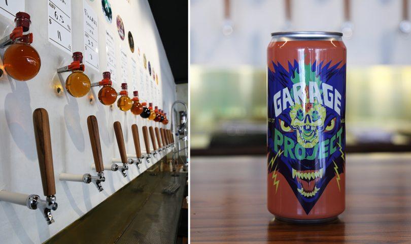 Beer lovers rejoice! Garage Project has opened a cellar door in Kingsland