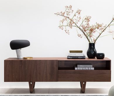 This luxurious dark timber furniture is the perfect excuse for an interior update