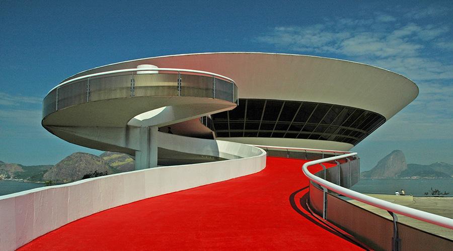 Niterói Contemporary Art Museum, Brazil