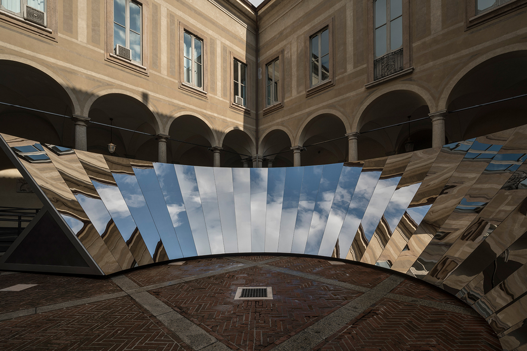 Mirror installation by COS x Phillip K Smith III
