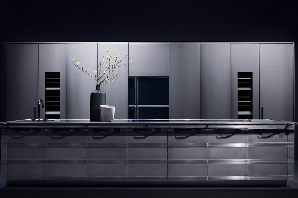 Kitchen concept by Marco Costanzi for Fendi