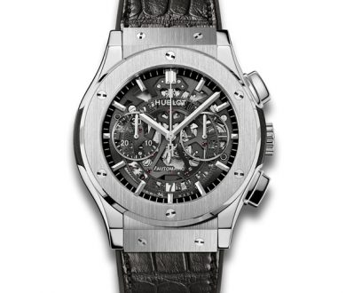 Hublot Aerofusion Titanium watch